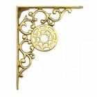 """""""Harrison"""" Brass Wall Bracket 17 x 13cm"""