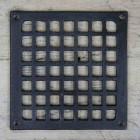 Square Cast Iron Air Cover -  5.5