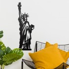 Statue of Liberty Wall Art in Situ in the Sitting Room