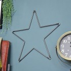 Steel Star Wall Art in Situ