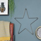 Steel Star Wall Art in Situ in the Home