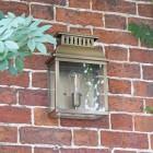"""Stoneford Park"" Half Wall Lantern on a Brick Wall"