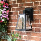 Suspended Wall Lantern With Contemporary Design