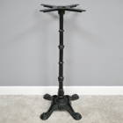 Cast Iron Ornate Table Base Finished in Black