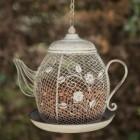 Teapot Bird Feeder in Situ