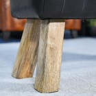 Close up of Mango Wood Legs