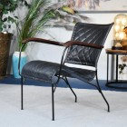 'The Harlington' Leather Chair in Situ