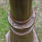 Close-up of the Finish on the Lamp Post Base