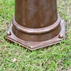 Close-up of the Base on the Lamp Post Set