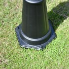 Close-up of the Base of the Lamp Post