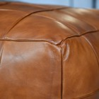 Close-Up of Tan Leather