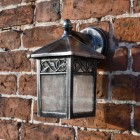"""""""Thetford"""" Traditional Wall Lantern View From the Front"""