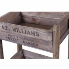 Close-up of the Text on the Crates
