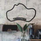 Thruxton Race Track Wall Art in Situ