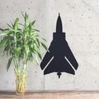 Tornado Jet Wall Art in Situ