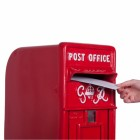 King George Rex Red Period Post Box