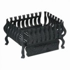 Traditional Fire Basket surround Finshed in Black