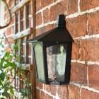 Traditional Flush Outdoor Half Wall Lantern