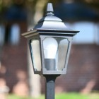 Close-up of Head of the Pillar Light