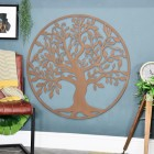 """""""Tree of Life"""" Circular Wall Art in the Sitting Room"""