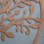"""Close-up of the Leaves """"Tree of Life"""" Circular Wall Art"""