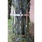 """Kratos"" contemporary stainless steel tree guards"