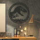 T-Rex Wall Art in Situ in the Office