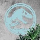 T-Rex Wall Art on a Rustic Wall