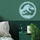T-Rex Wall Art on a Green Wall