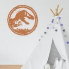 T-Rex Wall Art in a Children's Play Room