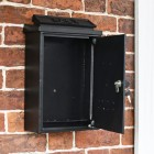 Front Opening Door on the Wall Mounted Post Box