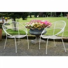 "Two Chairs from the ""Wesley Park"" Petite Garden Table Set"