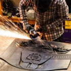The Darth Vader Fireguard Being Made in Our Workshop