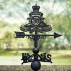 Royal Artillery Detailed Emblem Weathervane