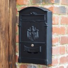 Black Dawsons Lodge Post box