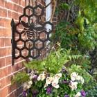 Honeycomb and Bee Bracket