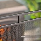 Close-up of the Double Rail Design on the Fire Guard