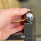 Ball Finial Design to Scale