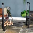 4' Simplistic Log Rack
