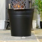 View of the Back of the Contemporary Ash Bucket