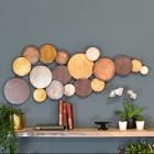 Circular Gold Modern Wall Art