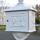 View of post box back image