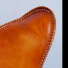 Close-up of the Shining Leather Finish