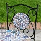 'Moroccan Mosaic' chair and table