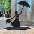 Mary Poppins Door Stop Created Out of Iron