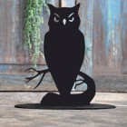Owl Door Stop Created Out of Iron