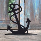 Anchor Door Stop Created Out of Iron