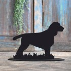 Cocker Spaniel Door Stop Created Out of Iron