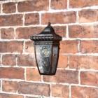 """Renaissance Opulence"" Half Wall Lantern in Situ"