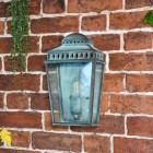 Verdigris Brass Wall Light